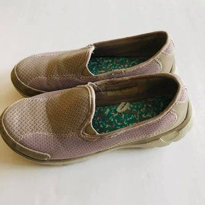 Danskin gray slip on shoes 8